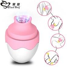 New 7 Mode Clitoris Sucking Stimulator Tongue Vibrator Nipple Sucker Breast Enlarge Massager Sex Toys Masturbator