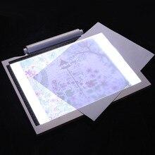 А4 планшет для рисования цифровой графический планшет USB светодиодный световой короб калькирование, копирование доска электронная художественная графическая живопись стол для письма