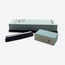 цена на Premium Whetstone Knife Sharpening Stone 2 Side Grit 400/1000 Waterstone |Best Whetstone Sharpener| NonSlip Nylon Base Guide