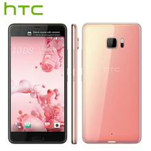 L'UE Version HTC U Ultra Mobile 4G LTE Téléphone 5.7 « Dual SIM 4 GB 64 GB Snapdragon821 Quad Core 2560×1440 DualView Android Téléphone Intelligent