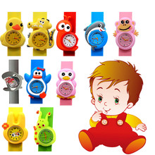 Оригинальный Новые Детские мультфильм аниме игрушка часы группа модель подарок на день рождения детские, для малышей игрушка
