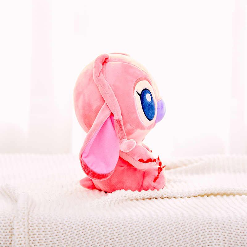 Disney 23 см куклы мягкие игрушки звезда детская серия плюшевая кукла Ститч Ангел креативная кукла подарок на день Святого Валентина игрушка для детей