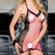 OY46 New Style Baby Doll Dress Women Sexy Lingerie Costumes Sexy Underwear Spaghetti Straps Sex Tulle Erotic Lingerie Babydoll