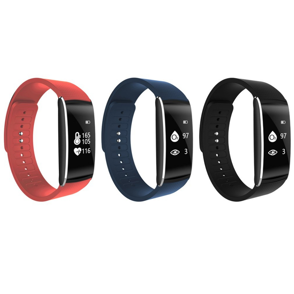 Ultra-thin OLED Display Sports Gauge Fitness Bracelet Pedometers Smart Step Tracker Pedometer Distance Calculation Counter