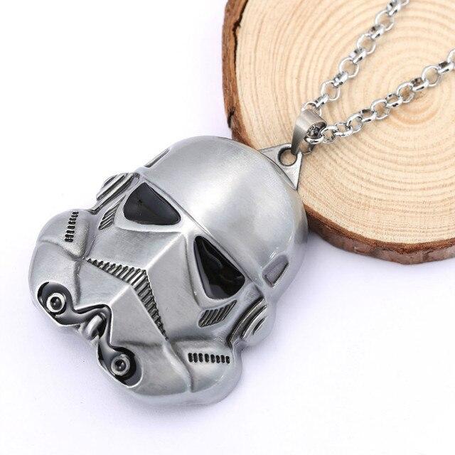 Star Wars Stormtrooper Mask Necklace For Women & Men
