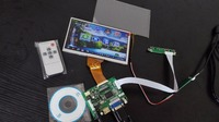 LCD Module 7inch LCD With Resistive Touch Screen With Control Board For Raspberry Pi 2 Banana