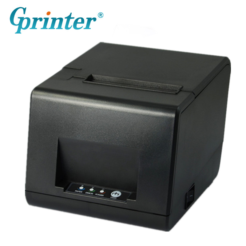 GP-L80160I POS Receipt Printer 160mm/s For Restaurant Kitchen Cash Micro POS Thermal Printer nice white pos system 15 inch touch screen billing machine all in one pos restaurant cash register with free shipping