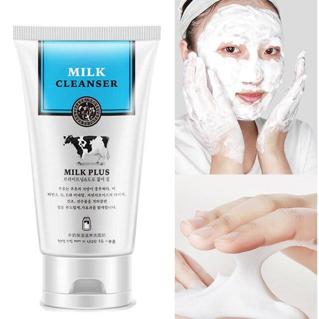 Horec мягкий молочный против морщин очищающий для умывания для чистки лица Антивозрастной Увлажняющий Отбеливание Deep Clean очистить поры