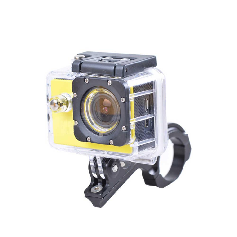 Алюминиевый велосипедный держатель камеры для руля велосипеда держатель адаптер Стандартный 31-31,8 мм для камеры Gopro Hero 2 3 3 + 4 5 6 7 xiaomi yi