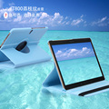 For Samsung Galaxy Tab S 10.5 inch T800 T801 T805 Tablet PU Leather Case Cover Rotating Free shipping