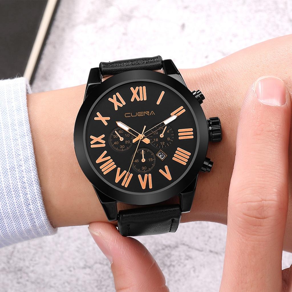 Man Watch Luxury Quartz Stainless Steel Dial Casual Bracelet Wristwatch Mens Watches Mens 2019 Men Wristwatch Clock