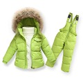 Children Winter Clothing set Boys Ski Suit Girl Down Jacket Coat + Jumpsuit Set 1-6 Years Kids Clothes For Baby Boy/Baby Girl