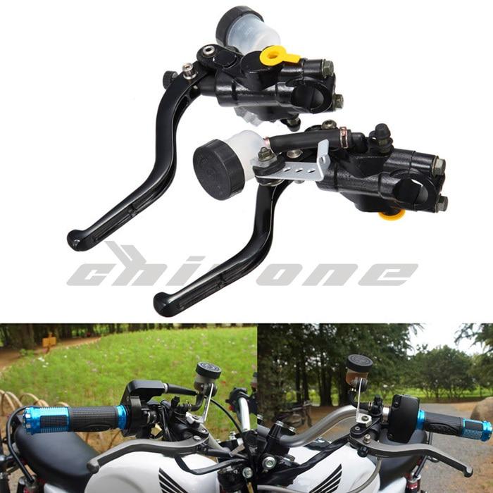 moto de frein hydraulique levier d 39 embrayage 7 8 22mm en alliage d 39 aluminium moto universelle. Black Bedroom Furniture Sets. Home Design Ideas