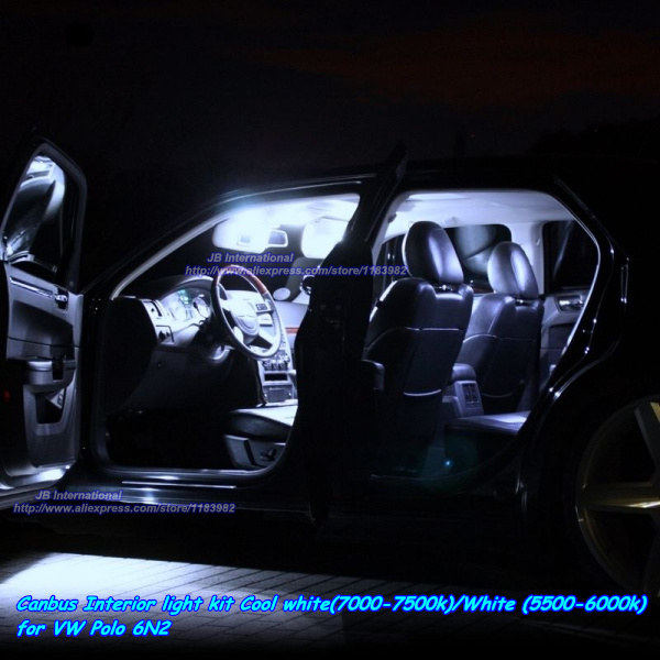 canbus auto led verlichting kit koel wit 7000 7500kwit 5500
