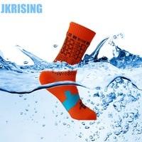 JKRISING Waterproof Sock Professional Windproof Breathable Coolvent Warm Socks Men Women Keep