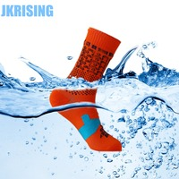JKRISING Waterproof Socks Professional Windproof Breathable Coolvent Men Women Winter Socks