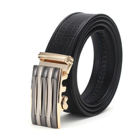 Men S Fashion Automatic Buckle Leather Luxury Designer Male Belt Waist Strap Belts For Men Ceinture