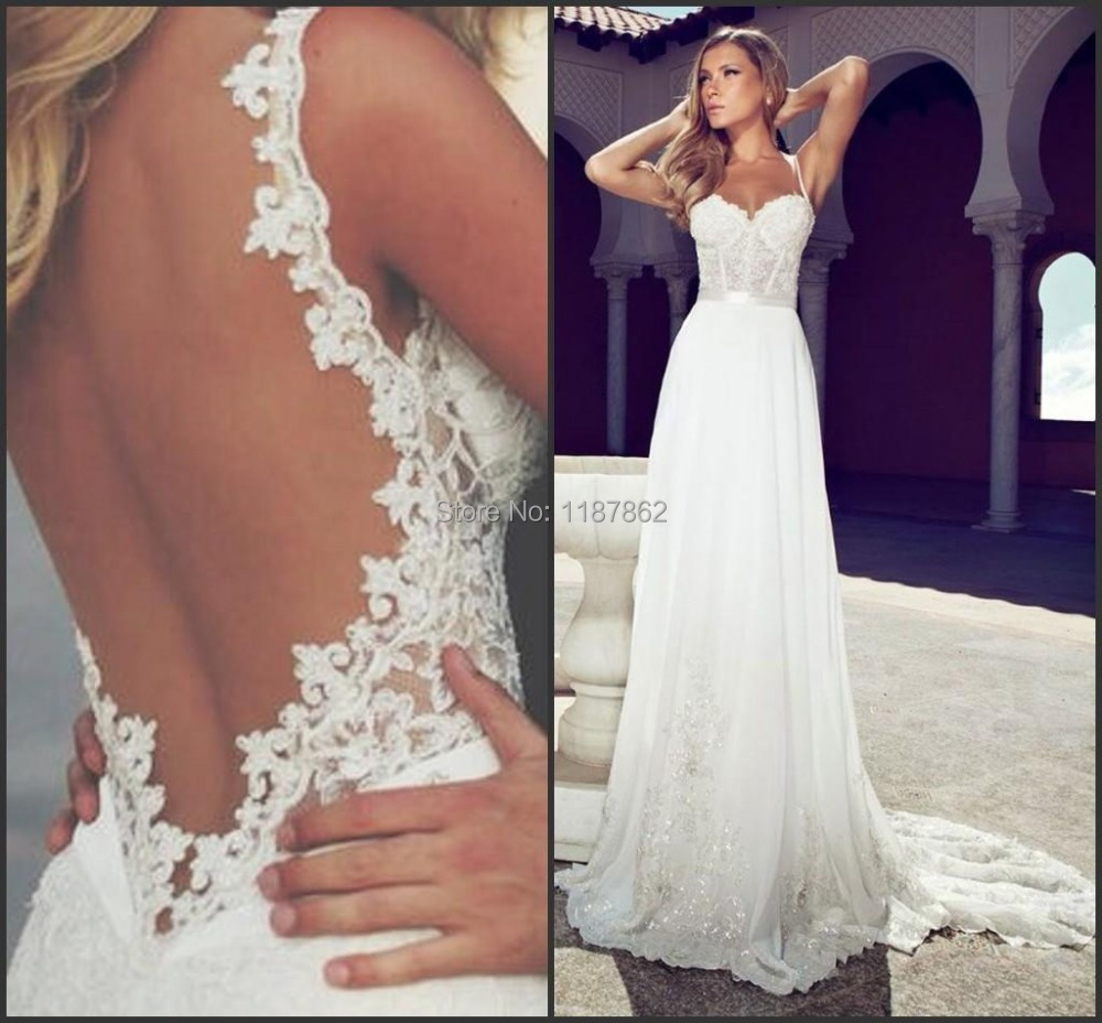 WD 0928 New Arrival 2015 Sexy Lace Backless Wedding