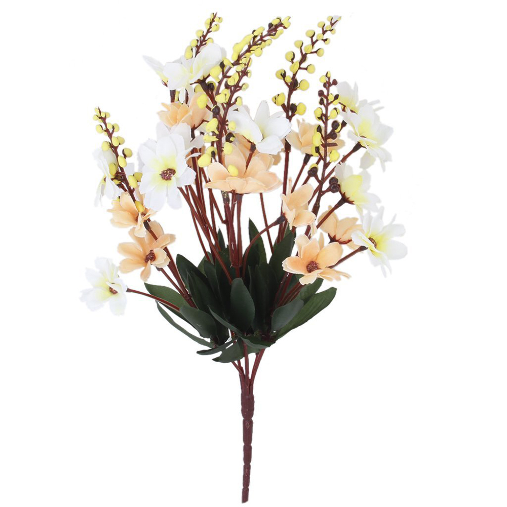 Online buy wholesale white daisies flowers from china white 1 bunch of artificial daisy flower bouquet for homeofficeparty decoration white dhlflorist Gallery
