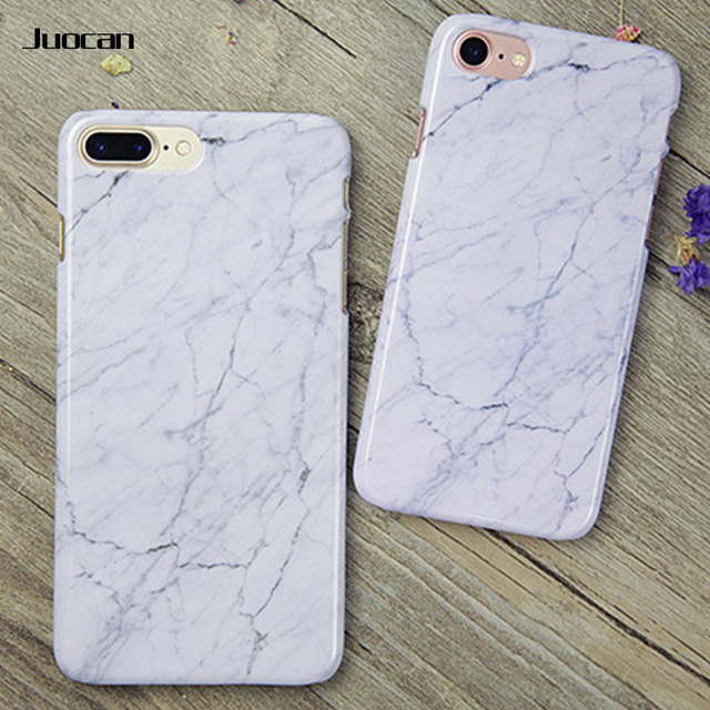new product bed2e cfde6 US $5.99 |Juocan Marble Style Phone Back Cover For Iphone 6 Three Color  Available Glaze Surface Cell Phone Case For Iphone 7-in Fitted Cases from  ...