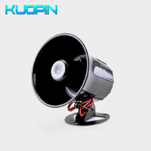 цена на 110dB DC 12V Wired Threaten Thieves Alarm Siren Horn For Home Security And Protection Wireless Alarm System Kits