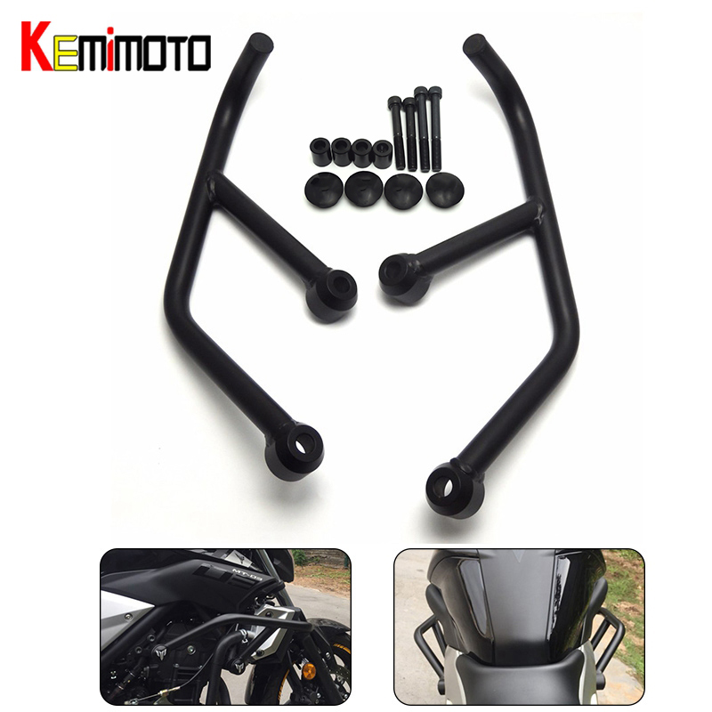 KEMiMOTO Motorcycle Accessories For <font><b>Yamaha</b></font> MT-03 MT-25 MT03 <font><b>MT25</b></font> MT 25 2015 2016 2017 Engine Protetive Guard Crash Bar Protector image