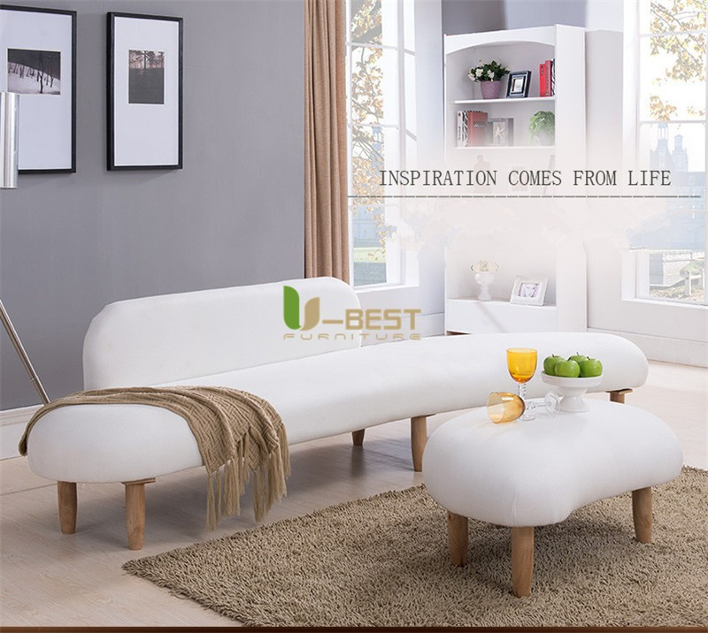 noguchi sofa with ottoman fabric sofa u-best sofa (1)