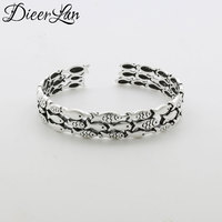 New Arrivals Summer Jewelry 925 Sterling Silver Fish Bracelets Bangles Fashion Bracelet For Women Sterling Silver