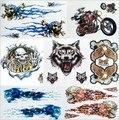 Pegatinas moto para yamaha logo pegatina y calcomanías de motocross moto de coche que labra piezas de bici de la suciedad pit bike atv suv