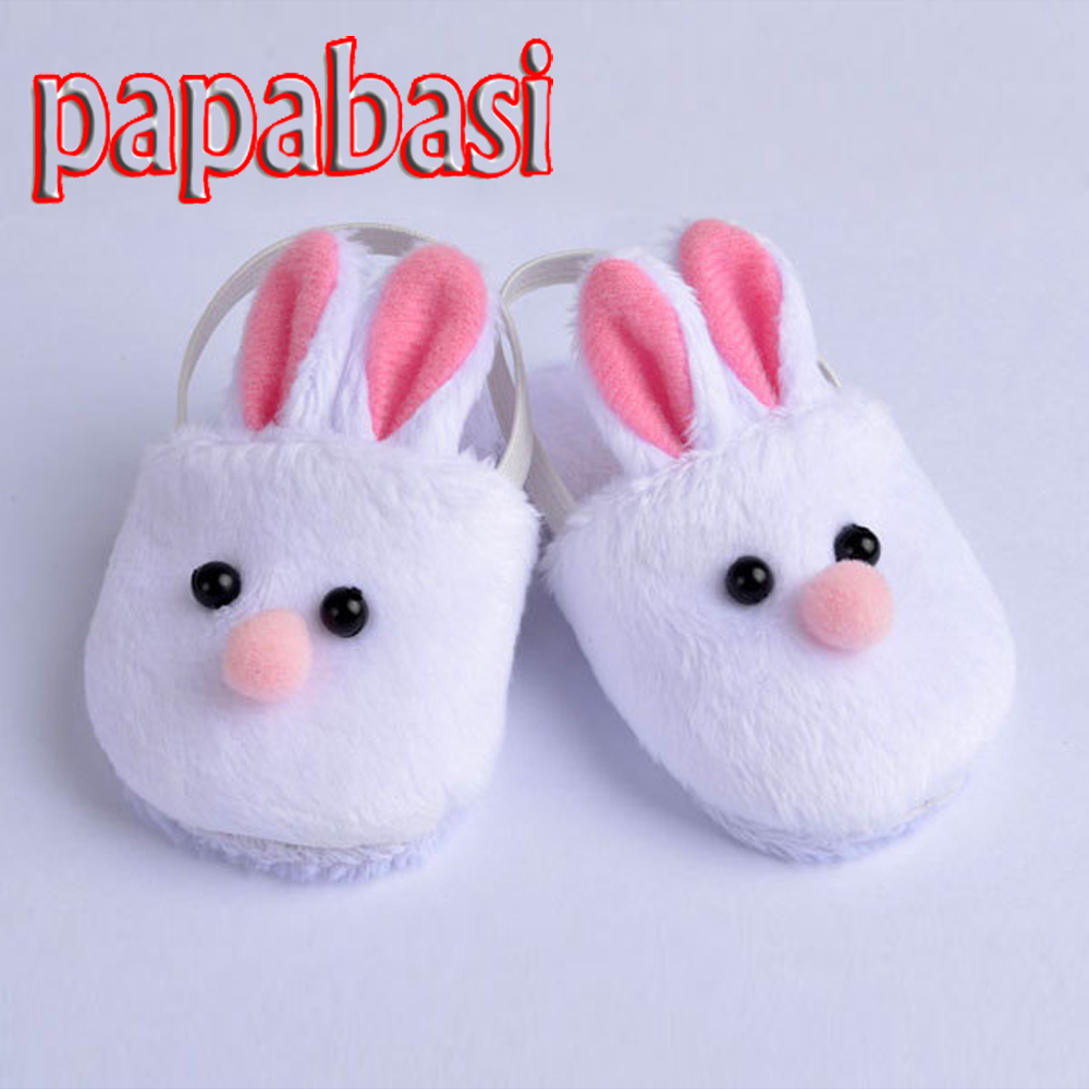Papabasi Cute White Bunny Rabbit Slipper Doll Shoes For 18 American Girl Doll Handmade nasrin zahan reproductive health and women s issues