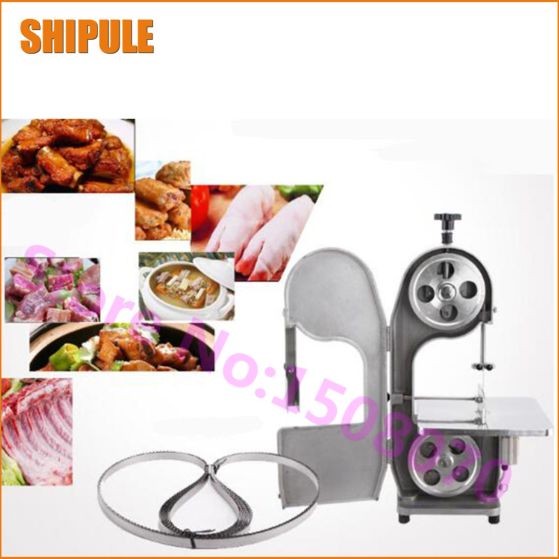 SHIPULE Stainless Steel Electric Meat Cutting Machine Price Meat Bone Saw Machine Commercial Meat Cutter Machine For Sale stainless steel axle sleeve china shen zhen city cnc machine manufacture