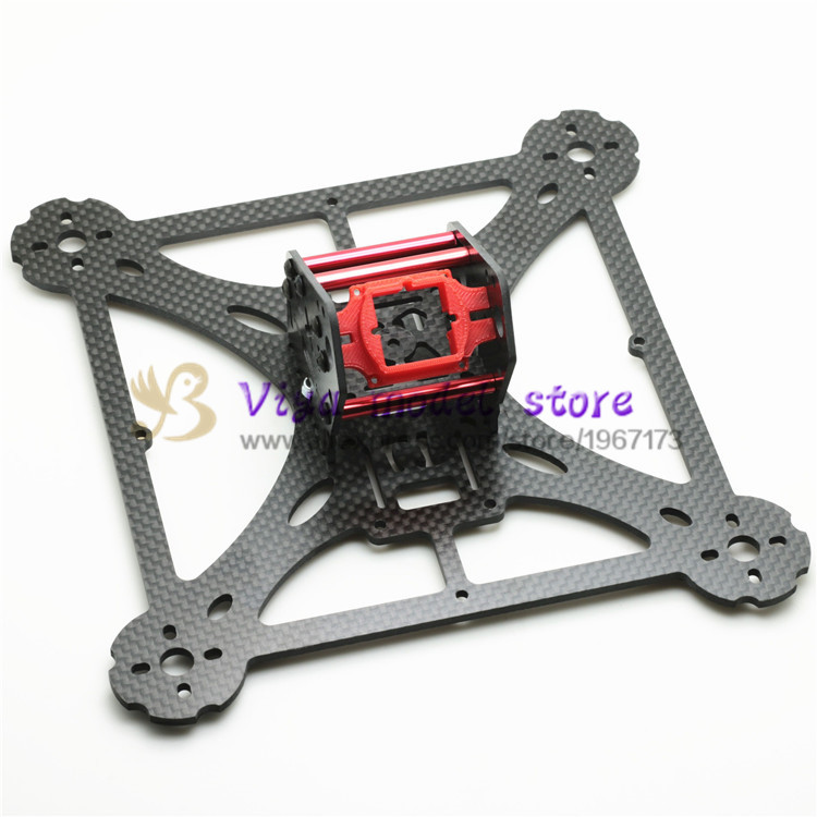 New DIY mini drone pure carbon fiber quadcopter frame LT HEX4-200 pro The frame body and wing arms integrally molded unassembled eft diy 10l agriculture spray quadcopter drone 1300mm annular folding pure carbon fiber frame model a and model b