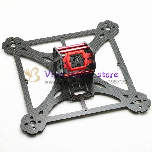 Nuevo DIY mini drone pura fibra de carbono quadcopter marco LT HEX4 ...