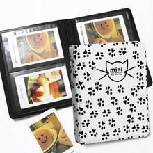 CV 64 Pockets Mini Instant Polaroid Photo Album, Picture Case Storage for Fujifilm Instax Mini Film 7s 8 Korea Instax Mini Album