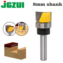 "1PC Hinge Mortise/Template Router Bit   3/4""W X 7/16""H Bottom Cleaning Straight end mill trimmer cleaning flush trim"