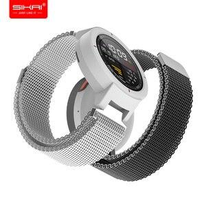 Image 1 - Wrist Strap Smart Watches band for Amazfit Verge Huami 3 Xiaomi Mi Verge lite fitness bracelet Quick Release Accessories SIKAI