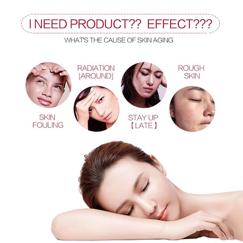 Blanchiment de la peau blanchiment crème blanc beauté taches foncées visage élimination des taches de rousseur maquillage essentiel marque ensemble ABC crème gratuit - 2