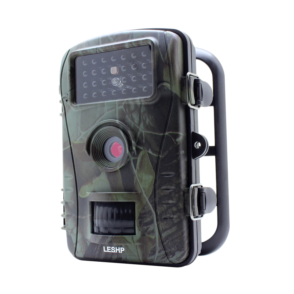 LESHP RD1003 Professional 2 4 Inch TFT 70 Degree Wide Viewing Hunting Camera 720P 940nM Digital Infrared Trail Camera in Hunting Cameras from Sports Entertainment