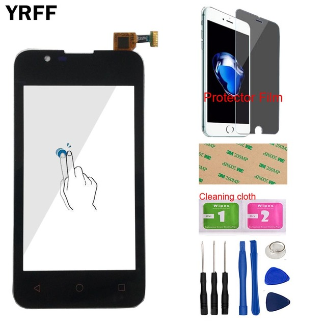 Mobile Touch Screen For BQS 4072 Touchscreen For BQ BQ 4072 BQ 4072 Strike mini Touch Screen Digitizer Screen Panel Gift