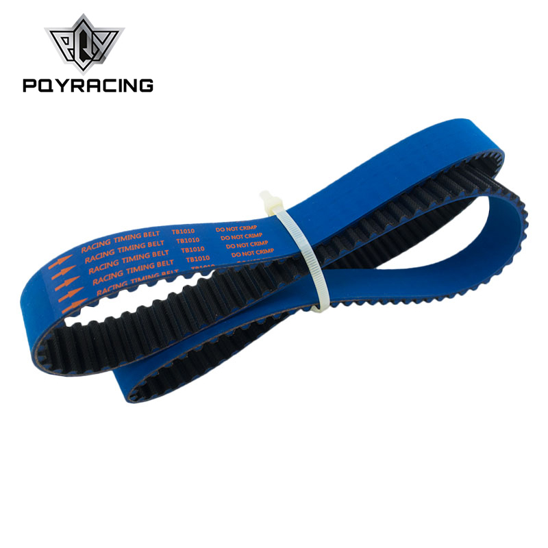 PQY Timing Belt FOR Nissan Skyline R32 R33 RB20 RB25DET RB26DETT RB25 BLUE HNBR PQY TB1010B