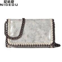 NIGEDU marke design Frauen Crossbody Taschen Kette kleine Damen umhängetasche handtasche bolsa feminina luxus abendtaschen Kupplungen