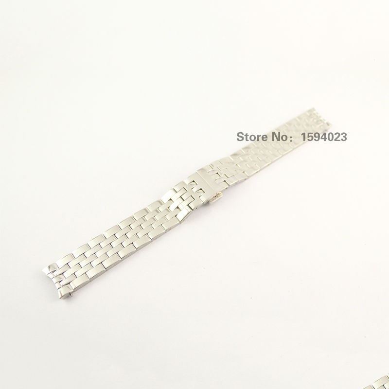 16mm T063210A New Watch Parts woman Solid Stainless steel  bracelet strap Watch Bands For T063