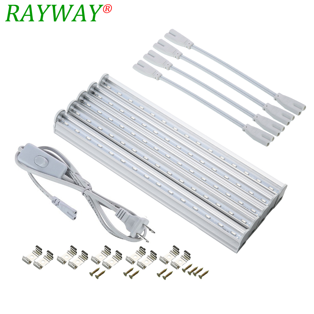 Led Grow Light T5 Tube 5730 Grow Tent Phyto Lamps For Plants Indoor Flowers Vegetable Aquarium Hydroponic System Greenhouse