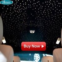 Maykit car styling decoración interior iluminación de fibra óptica 12 V 6 W RGB LED multi colores LED motor fuente control remoto