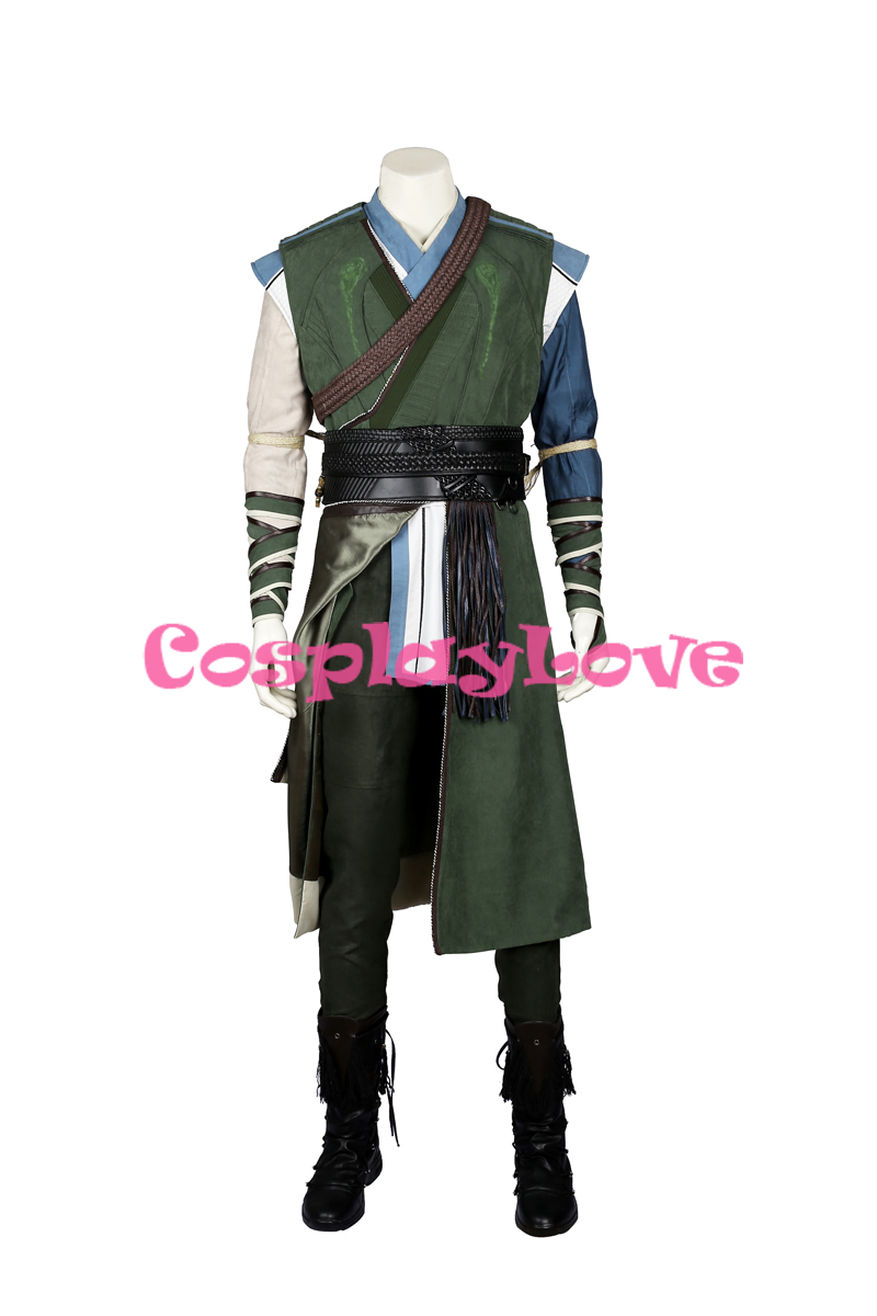 Newest Movie High Quality Baron Mordo Costume Doctor Strange Cosplay Costume For Man Any Size