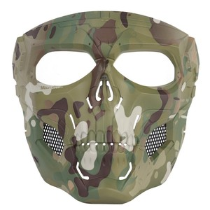 Image 2 - Tactical Hunting Shooting Equipment Gears Cloths Skull Messengers Unisex Full Protective Mask Helmet Head wear Accessories