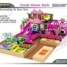 Детский лабиринт сладкие конфеты тема рай Крытый игровая площадка парк YLW-IN19326