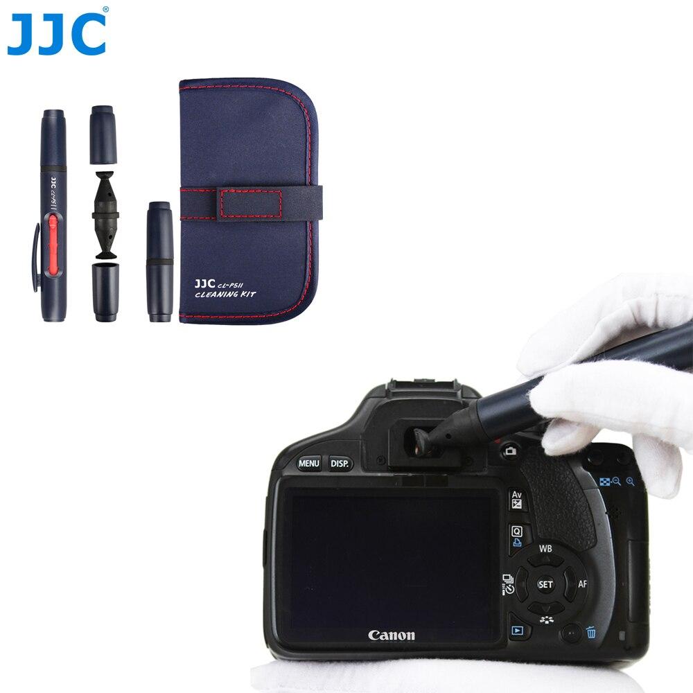 JJC lente de la Cámara de pluma de limpieza Kit DSLR SLR visores pantallas filtros cámaras herramienta de limpieza para Canon/Nikon/Sony /Pentax/Samsung