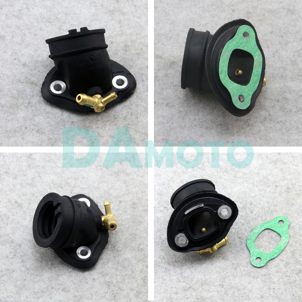 Carb Air Intake Manifold Pipe Inlet Carburetor Connector adapter For PIAGGIO FLY
