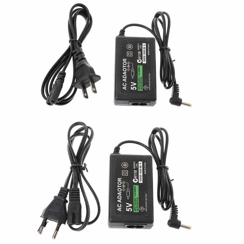 Wall Charger AC Adapter Power Supply Cable For PSP 1000 2000 3000 EU/US Plug